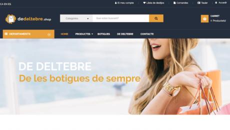 Marketplace para Asociación de Comercios Deltebre - Tarragona