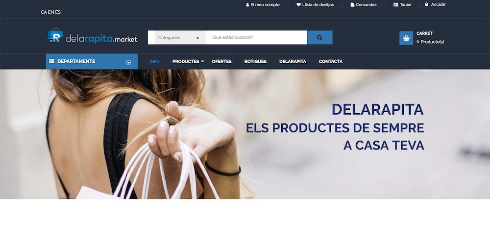 Marketplace para Asociación de Comercios Sant Carles de la Ràpita - Tarragona